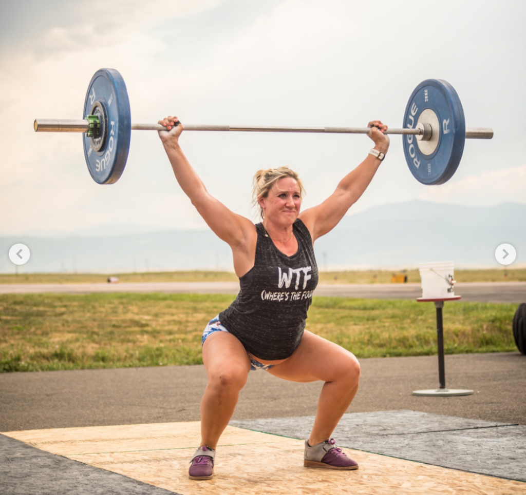 Barbell snatch when pregnant