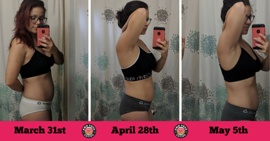 keto to flexible eating transformation