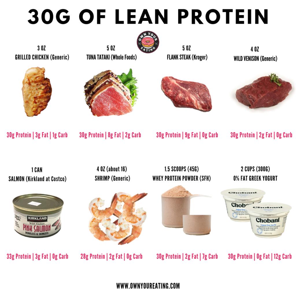 30g Lean Protein
