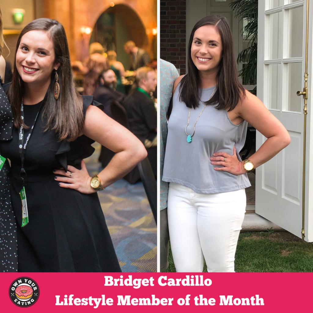 Bridget Cardillo progress picture