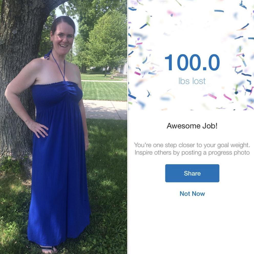 Jess Philpot loses 100 lbs.
