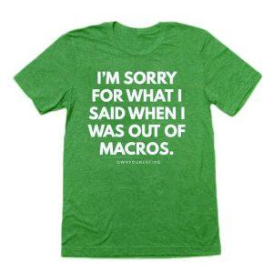 I'm Sorry - Men