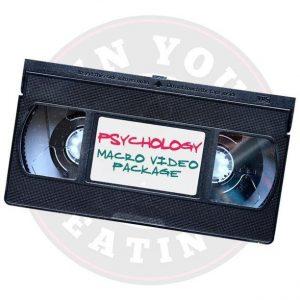 Psychology Macro Video Package