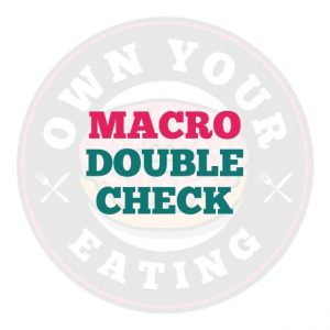 Macro Double Check, Macro Calculator