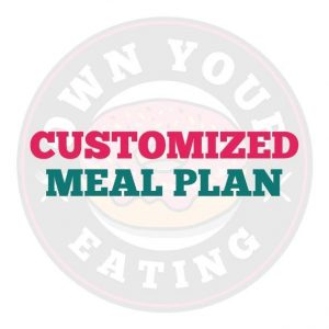 Customized Meal Plan - 7 Days