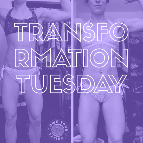 Transformation Tuesday – Tara Shoebridge