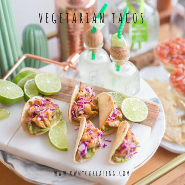 Vegetarian Tacos – Cashew & Mushroom [Recipe]