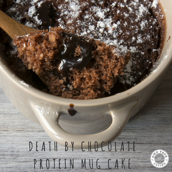 Death by Chocolate Protein Mug Cake [Recipe]