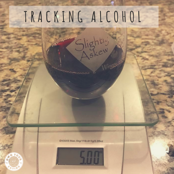 Tracking Alcohol with Macros – how to do the math!