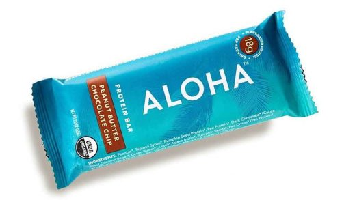 aloha protein snack bar