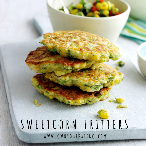 Vegetarian Sweetcorn Fritters [Recipe]