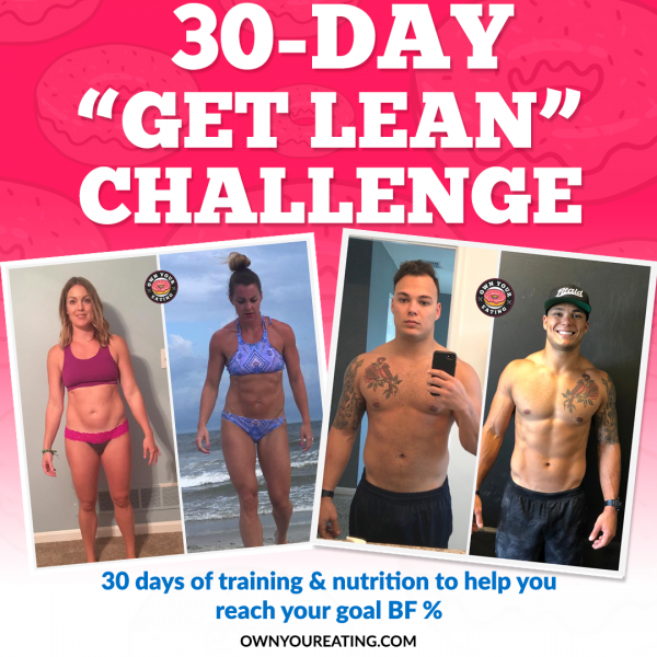 30-day get lean challenge