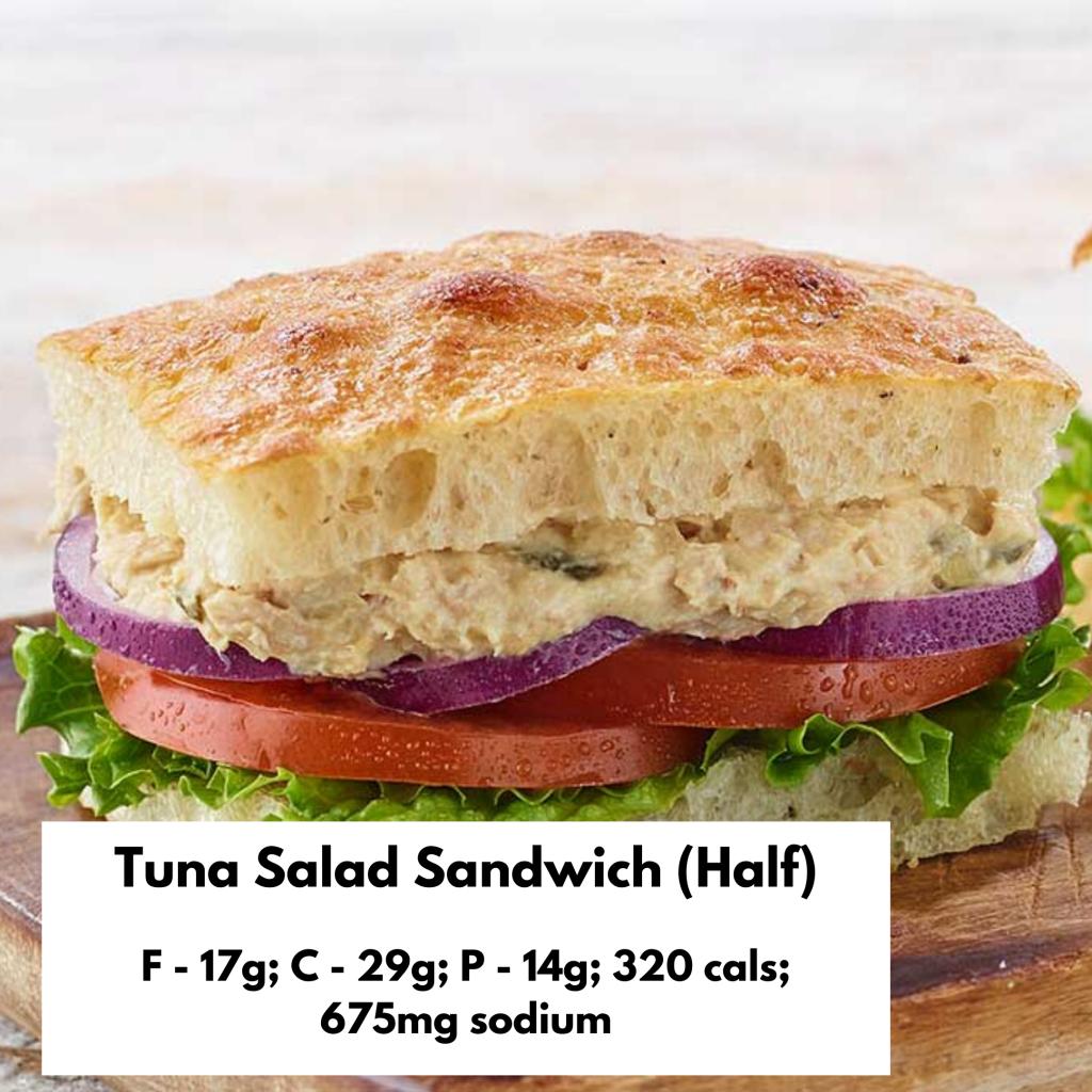 Panera Tuna Salad Sandwich