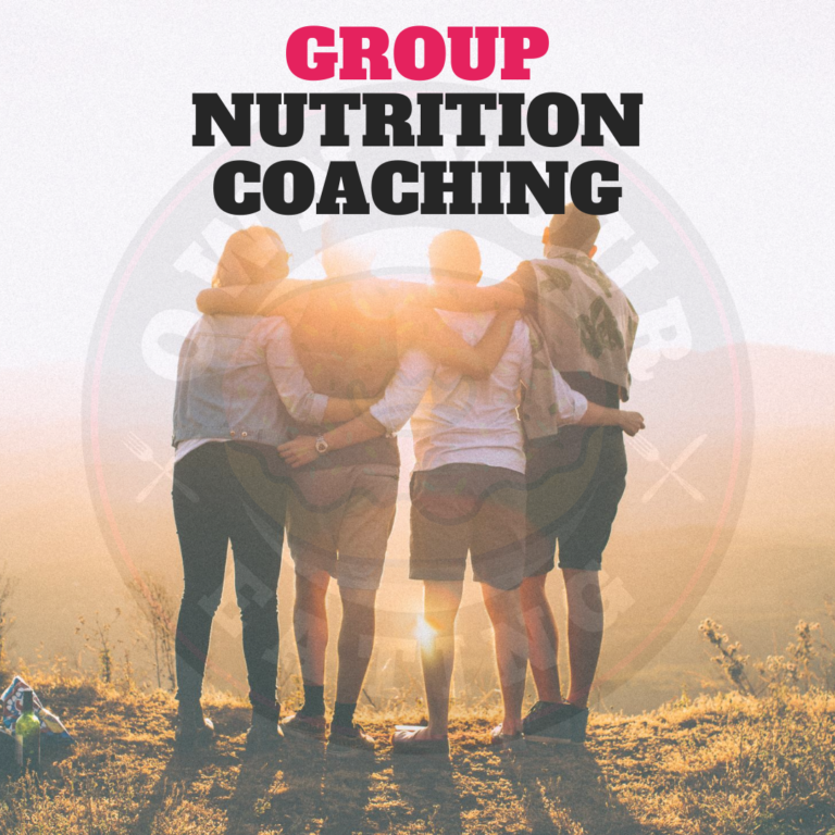 Group nutrition coaching